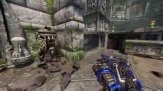 Quake Champions gameplay gun