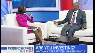 Waithaka Gatumia:GM Centonomy LTD; How to save in the first quarter-Your Money