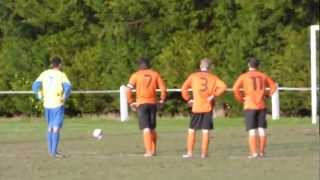 preview picture of video 'Richie Foulkes penalty for Heswall FC -v- Newton'