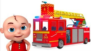 Fire Truck Assembly Video For Kids | Learn Emergency Vehicle Construction | Videos For Toddlers