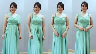 4e9208113d DUSTY GREEN / SAGE INFINITY DRESS | D.I.Y CONVERTIBLE | LOVE HUMBLY SHOP
