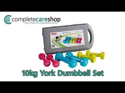 York Dumbbell Set