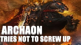 Warhammer 2 Livestream - Archaon Chaos Campaign - Lets not screw up this time