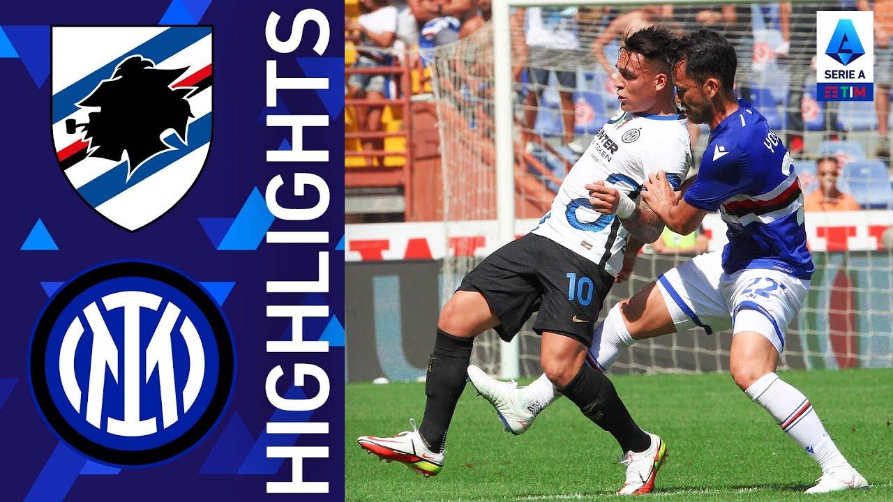 Sampdoria 2-2 Inter | La Sampdoria blocca l'Inter e blinda Marassi | Serie A TIM 2021/22