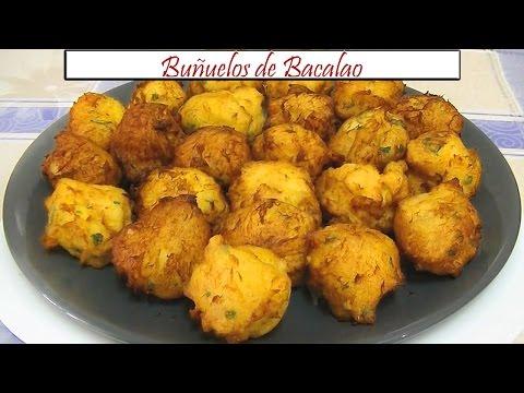 Buñuelos de Bacalao | Receta de Cocina en Familia