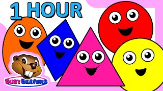 'Colors & Shapes DVD' - 1 Hour, Super Simple Colours, Little Baby Songs, Kids Learn Nursery Rhymes