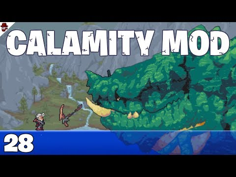 Terraria # 28 HUGE Boss Improvements! - Calamity Mod Let's Play