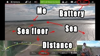 My €1500 quadcopter runs out of battery ABOVE the sea!! Can I still save it?
