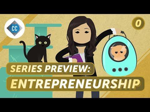 Crash Course Business: Entrepreneurship Preview - YouTube