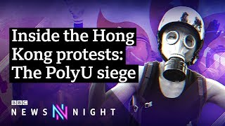 Hong Kong protests: The battle of PolyU - BBC Newsnight