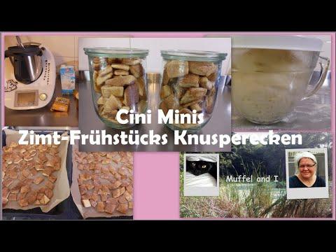 Cini Minis - Zimt-Frühstücks Knusperecken, Frühstückscerealien nachgemacht