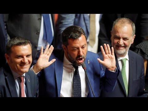 Ιταλία: Στις 20 Αυγούστου συζητείται η πρόταση μομφής κατά της κυβέρνησης…