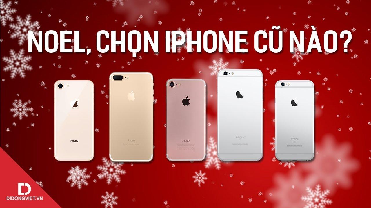 Top 5 iPhone cũ đáng mua nhất trong tháng 12