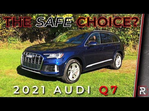 The 2021 Audi Q7 55 TFSI is a Nice 3-Row Luxury SUV that Strives to Stand Out