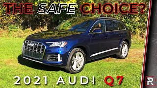 [Redline Reviews] The 2021 Audi Q7 55 TFSI is a Nice 3-Row Luxury SUV that Strives to Stand Out