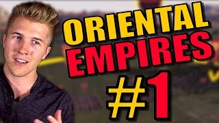 TOTAL WAR + CIVILIZATION 5 STRATEGY GAME?! | Oriental Empires PC Gameplay First Look - Part 1