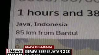 Kota Yogyakarta Diserang Gempa 3 SR Dalam Waktu 3 Menit  INews Malam 16/10