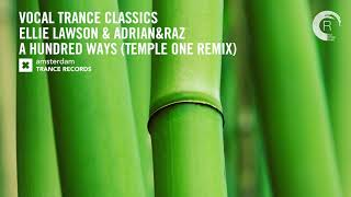 VOCAL TRANCE CLASSICS: Ellie Lawson   A Hundred Ways (Temple One Remix)