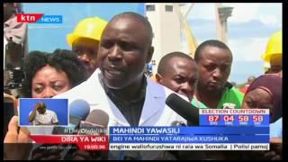 Mahindi yalioagizwa na serikali kushusha bei ya Unga yawasili katika bandari ya Mombasa