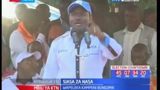 Jubilee na NASA waendeleza kampeni za uchaguzi
