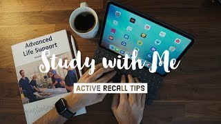 Study with Me + Active Recall tips | Life as a Junior Doctor