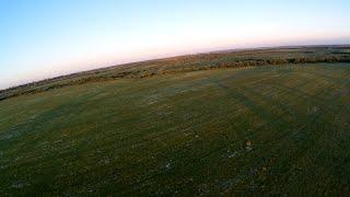 Закат с высоты птичьего полета | sunset aerial view | FPV | Ярославль Брагино с высоты | Полеты | RC