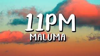 Maluma   11PM  (LetraLyrics)
