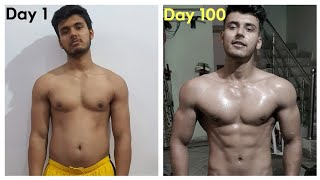 UNSTOPPABLE! My 100 Day Natural Body Transformation (During Lockdown)