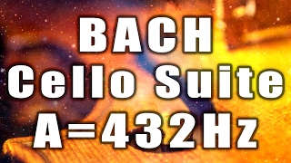 "30min Loop of Bach: ""Cello Suite n1 in G - Prelude"" A=432Hz"
