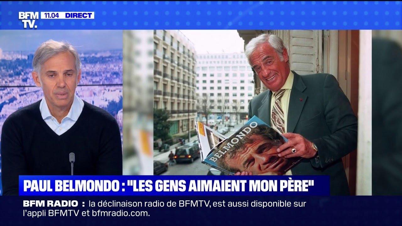 Paul Belmondo est l'invité exceptionnel de BFMTV