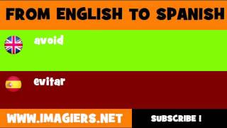 SPANISH TO ENGLISH = evitar