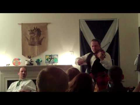 Strathspey & Reel on fiddle performed at a Burns Supper