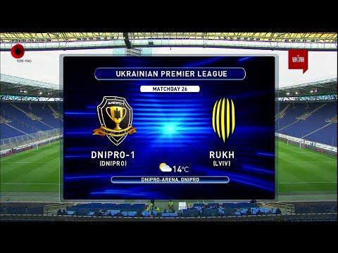 SK Sport Klub Dnipro-1  Dnipropetrovsk 1-1 FK Rukh...