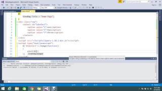 Get selected value of a dropdown's item using jQuery