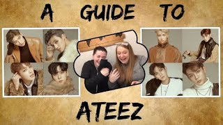 I Don't Know K Pop! Reacting To An (Updated) Helpful Guide To Ateez