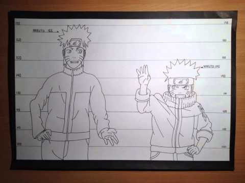 comment colorier naruto
