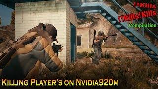 Playing PUBG on Lowest Settings Possible on Nvidia 920m   920mx