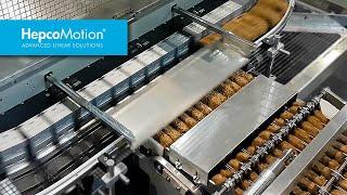 Effiziente Verpackung von Frühstückscerealien mit dem GFX Führungssystem