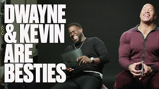 10 Minutes Of The Rock And Kevin Hart Making Each Other Laugh | LADbible