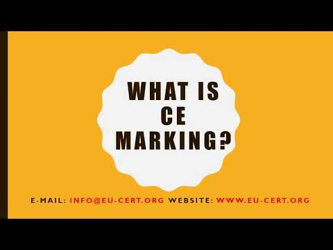 What is CE Marking Certification? - YouTube