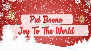 Pat Boone - Joy to the World // BEST CHRISTMAS SONGS