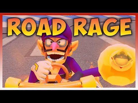 Mario Kart 8 Deluxe ROAD RAGE!!! (200cc Online Races 10)