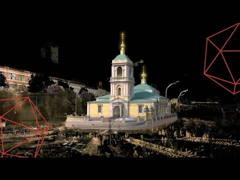 3D Scanners Dig Deep at Moscow's Cathedral Preobrazhenskaya