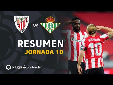 ⚽ RESUMEN I Athletic Club 4-0 Real Betis I J10 LaLiga 2020-21 I Laburpena