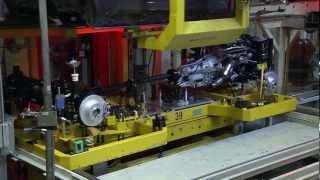 2012 BMW - Сборочный конвейер.