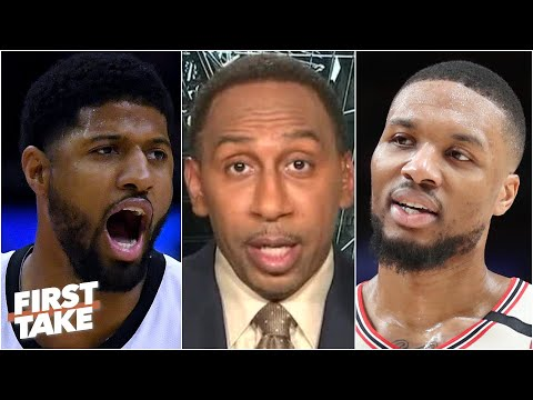 'Don't mess with Dame Dolla' – Stephen A. reacts to Lillard's beef with Paul George | First Take