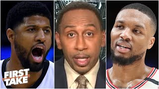 Dont Mess With Dame Dolla - Stephen A. Reacts To Lillards Beef With Paul George | First Take