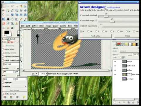 Image from Writing GIMP Plug-ins in Python