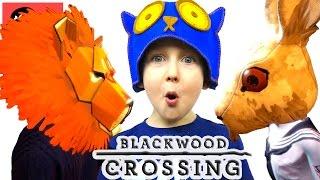 🌳 ГЕРОИ В МАСКАХ #2 в BLACKWOOD CROSSING прохождение Жестянка PS4 новые серии
