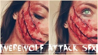 WEREWOLF ATTACK X CLAWED FACE || Easy SFX Tutorial